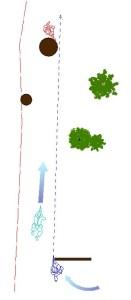 援護射撃の位置1